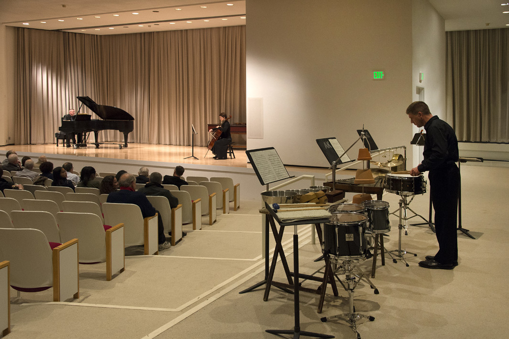 Inaugural Concert, Albright-Knox Art Gallery, October 1, 2015.  Photo by Tom Loonan.