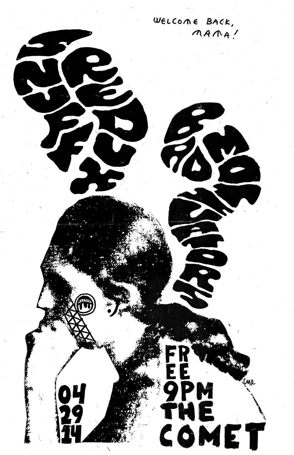 Snuff at Comet poster.jpg
