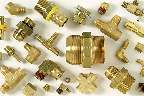 Brass-Push-Lock-JIC-SAE-Fittings