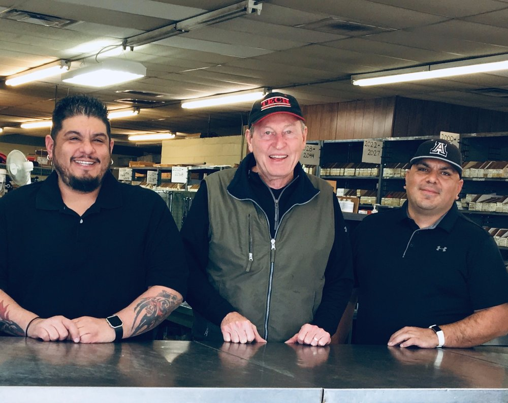 About Us - With over 50 years combined experience we can get you back on the job in a hurry. Come by and see Rod, Danny, or Chris.