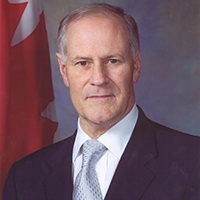 Bill Graham   The Hon. Bill Graham was Member of Parliament for Toronto Centre-Rosedale, then Toronto Centre, from 1993 to 2007. Prior to entering politics, he practiced law with the firm Fasken Martineau and taught in the University of Toronto Faculty of Law. For six years he was chairman of the House of Commons Standing Committee on Foreign Affairs and International Trade, and subsequently served as Minister of Foreign Affairs from 2002-2004 and Minister of National Defence from 2004-2006. In 2006, he was Leader of the Opposition and Interim Leader of the Liberal Party of Canada. He is currently Chancellor of Trinity College in the University of Toronto and a member of The Bill Graham Centre Advisory Board.