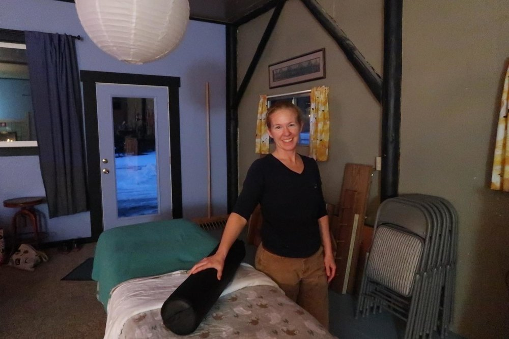 Dear Friend and extra great massage therapist, owner of Farm To Table Massage…she comes on-site for your amazing massage. There aren't enough stars to rate her…she's that good.