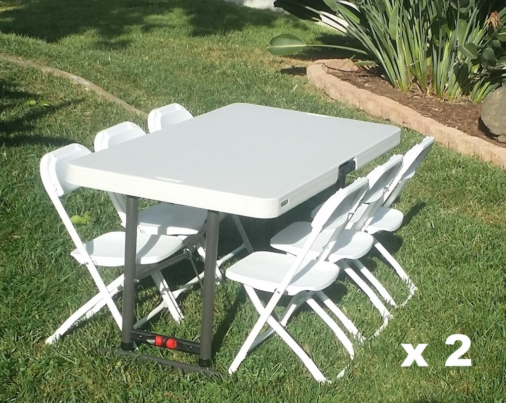 kid table and chair rentals