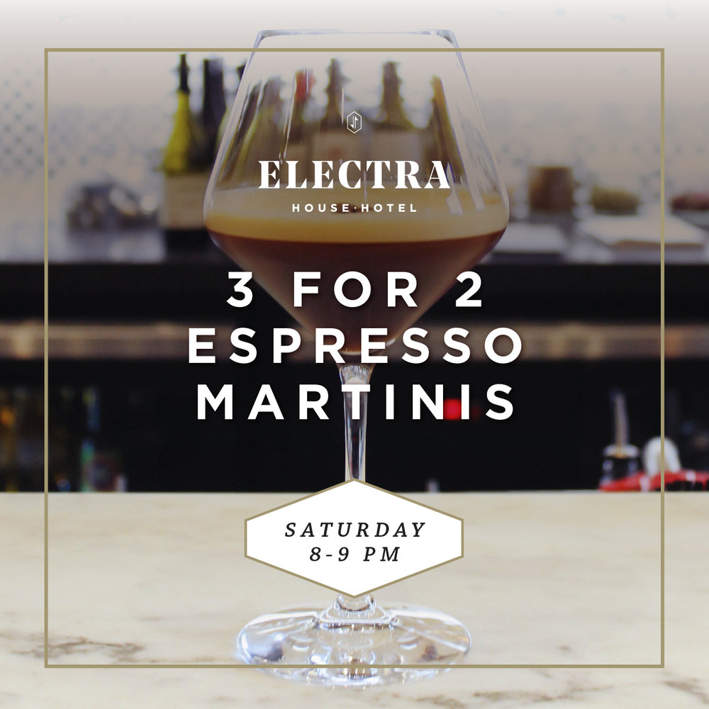 click here to view our Espresso Martini menu