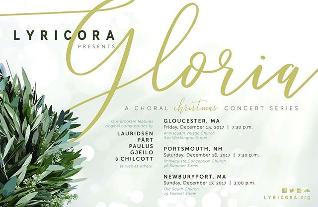 The holidays are coming, and so is lyricora's Christmas concert series. Be sure to add these dates to your calendar, and don't forget to sign up for our email list at the link in our bio #christmastime #choralensemble #choralmusic #winter #choir #gjeilo #lauridsen #paulus #chilcott #classical #classicalmusic #sacredmusic #advent