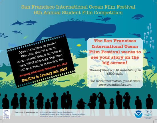 The 5th Annual Student Film Competition poster
