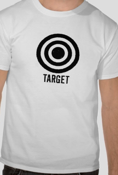 Everyone had a shirt with target on it.