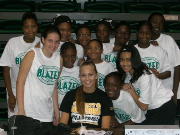 UAB SUMMER CAMPS, BEGINNING HER COACHING CAREER