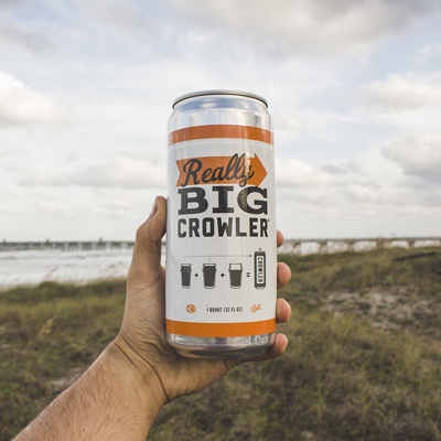 Jax Beach, meet the crowler. Crowler, meet Jax Beach. You guys are about to become best friends. If a giant can filled with 32 ounces of your favorite craft beer sounds like a thing you might enjoy, we highly recommend you stop by the grand opening of the Really Good Beer Stop on Saturday, October 24. Come taste some beers, pick your favorite and witness the creation of your brand new crowler.