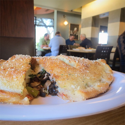 You're officially in the calZONE.🙌