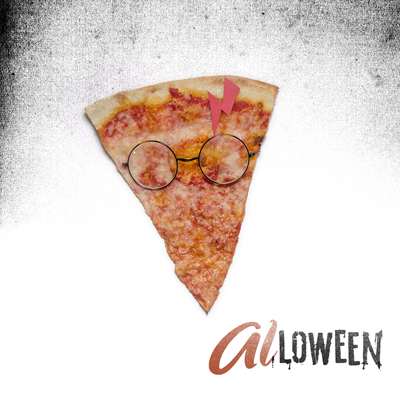 What spell do we cast to get more pizza? Two days until #ALLOWEEN! ⚡️