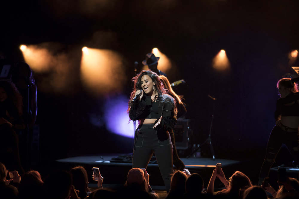 Demi Lovato, Mastercard - Jimmy Larkin