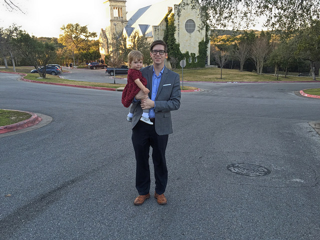 Slacks and a sport coat for a wedding in Austin.