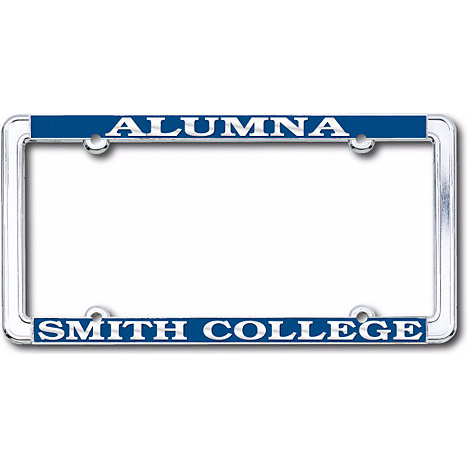 Smith College License Plate Frame — Smith College Club of Los Angeles