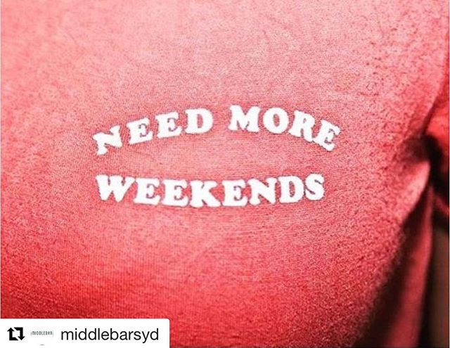 Deserves a repost and accurately captures today's mood...#middlebar #middlebarsyd #taylorsquare #sydneybars