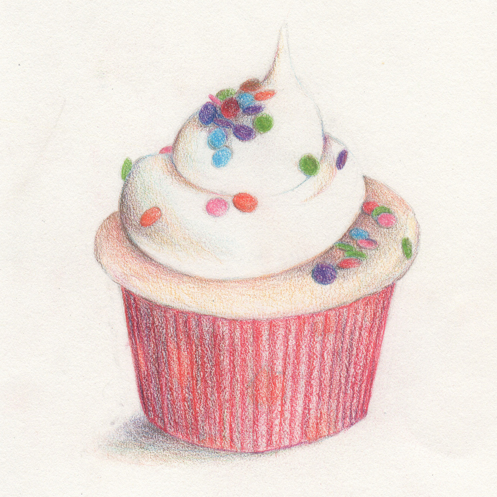 Colored Pencil - Food (Level 2)