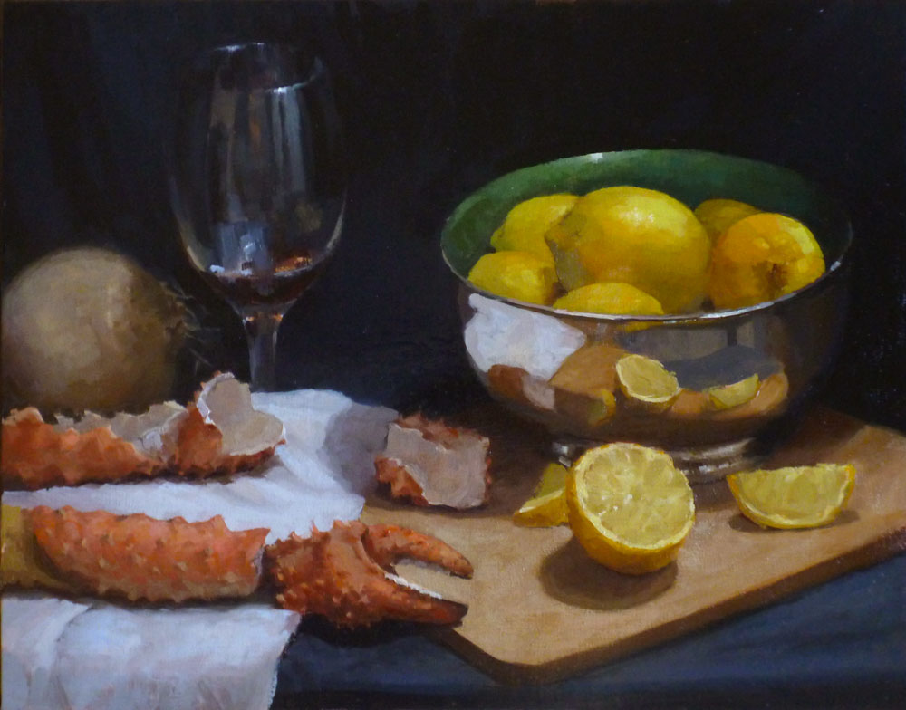 Crab Claws and Lemon