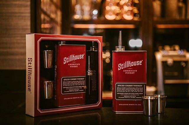Still searching for the perfect holiday gift? @popsugar recommends some great stocking stuffers, including @stillhouseusa 's Spiced Cherry Whiskey – the ultimate flavor for the holiday season! Stilhouse even have a festive gift set, with everything you need to cheers to the holiday season!  Click the link in our bio to check it out.  #stillhouse #unbreakablespirit #popsugar #holidaygiftguide #whiskey