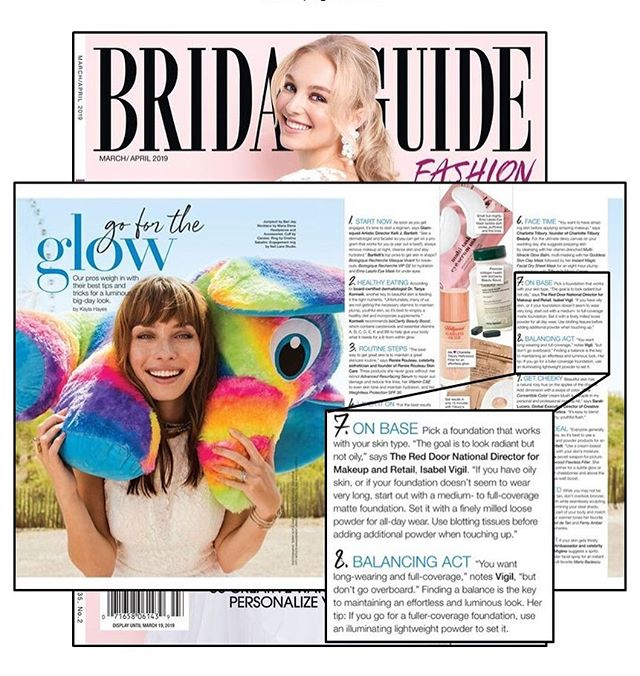 Have trouble finding makeup that stays all day? Check out tips from @reddoorspa's makeup guru @isav.303 in the March/April issue of @bridalguide, on stands now! 💋💁🏼‍♀️