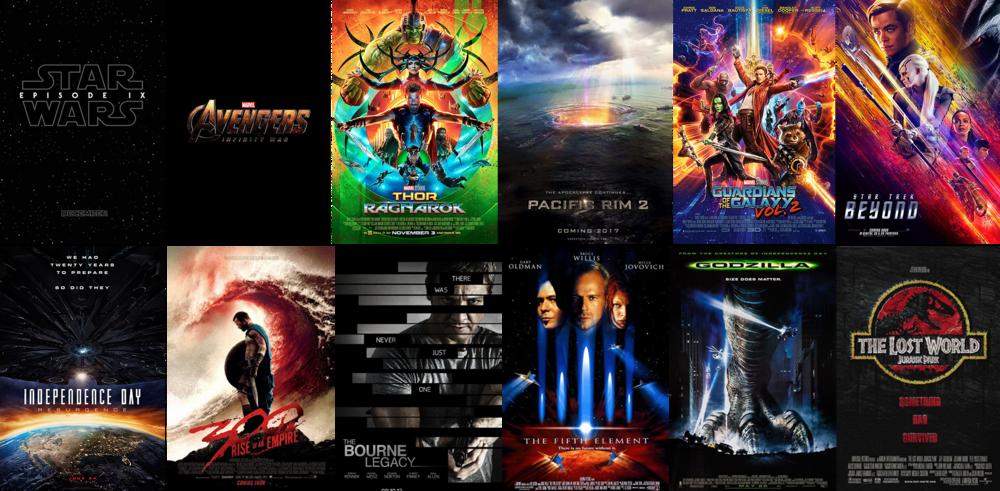Sean Hargreaves  近期所參與過的眾多大片。其他所參與過的作品可以在  IMDB  上查閱 。