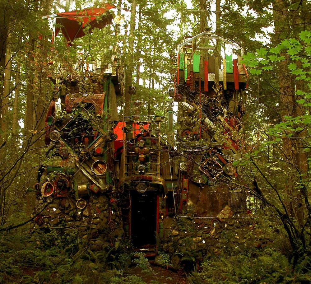 Sean Hargreaves 為電影「幻想國度 Neverwas」所設計的創作實體呈現劇照。