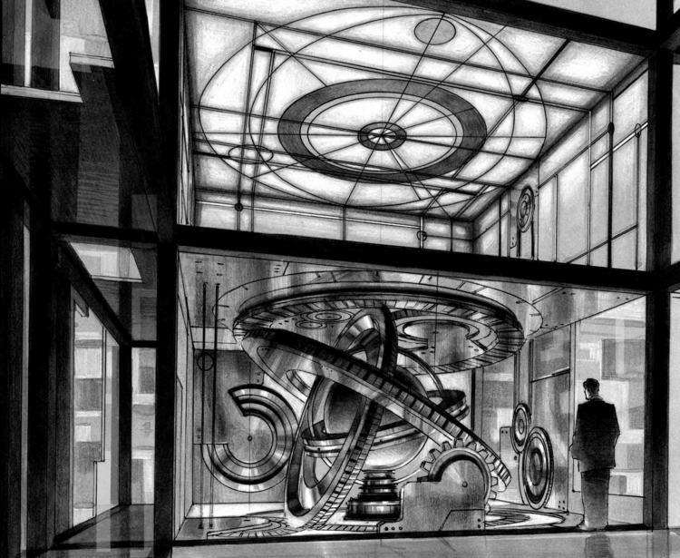電影惡靈13 的場景概念設計