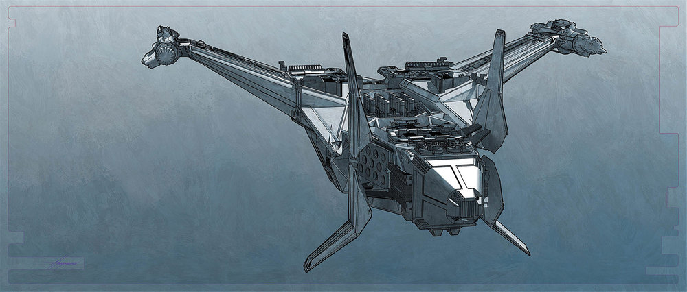 Thor-Ragnarok-Gladiator-Thor-Concept-Art-Sean-Hargreaves-Kingswood-Spaceship-02.jpg