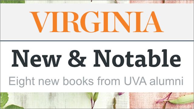 VIRGINIA  ALUMNI BOOK REVIEW