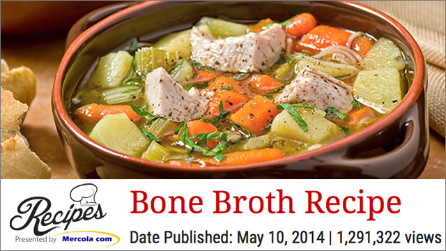 MERCOLA BROTH RECIPE
