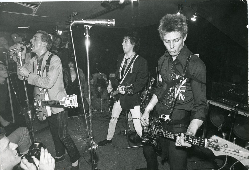 The Clash, 1970s © Ray Stevenson. Courtesy of Rex Shutterstock.