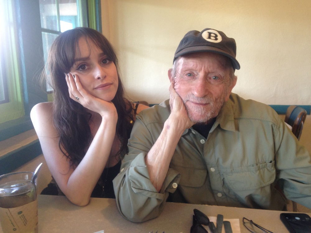 Tess Parks and Baron Wolman.