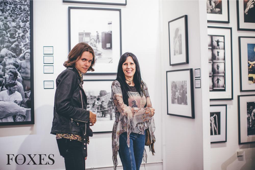 Julian and Tina de la Celle (Editors-in-Chief of FOXES)