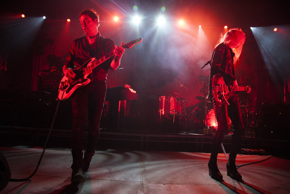 The Kills shot by Wanda Martin.