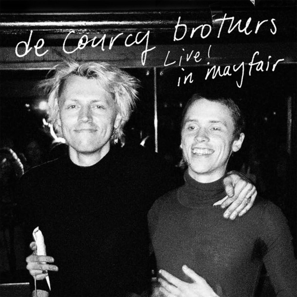THE DE COURCY BROTHERSLIVE! IN MAYFAIR -