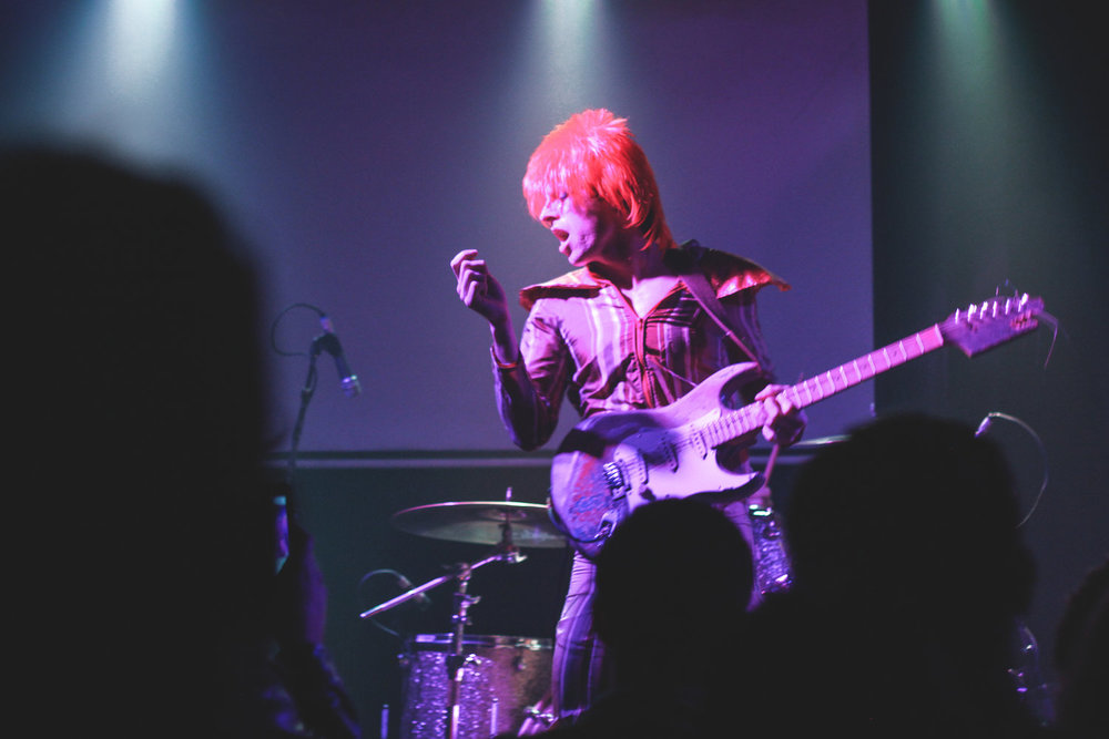 CLUB FOXES PRESENTSREMEMBERING BOWIE -
