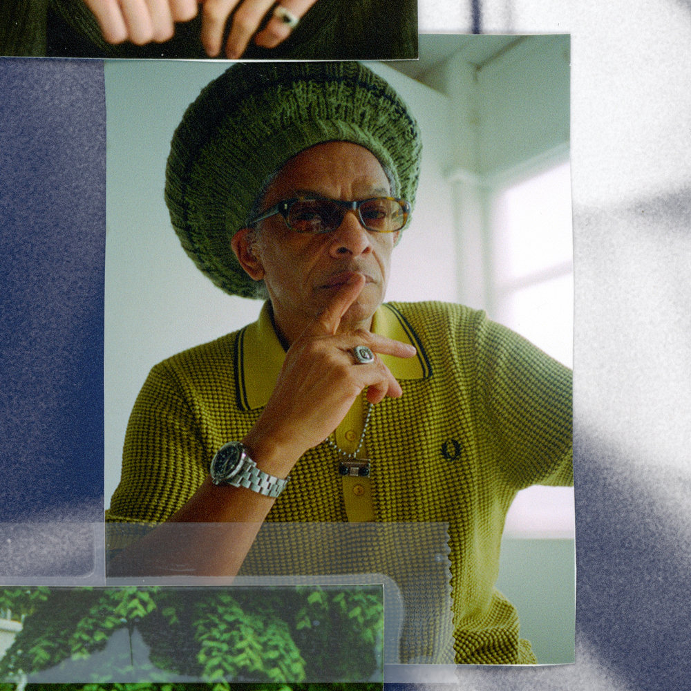 Don Letts in Fred Perry.