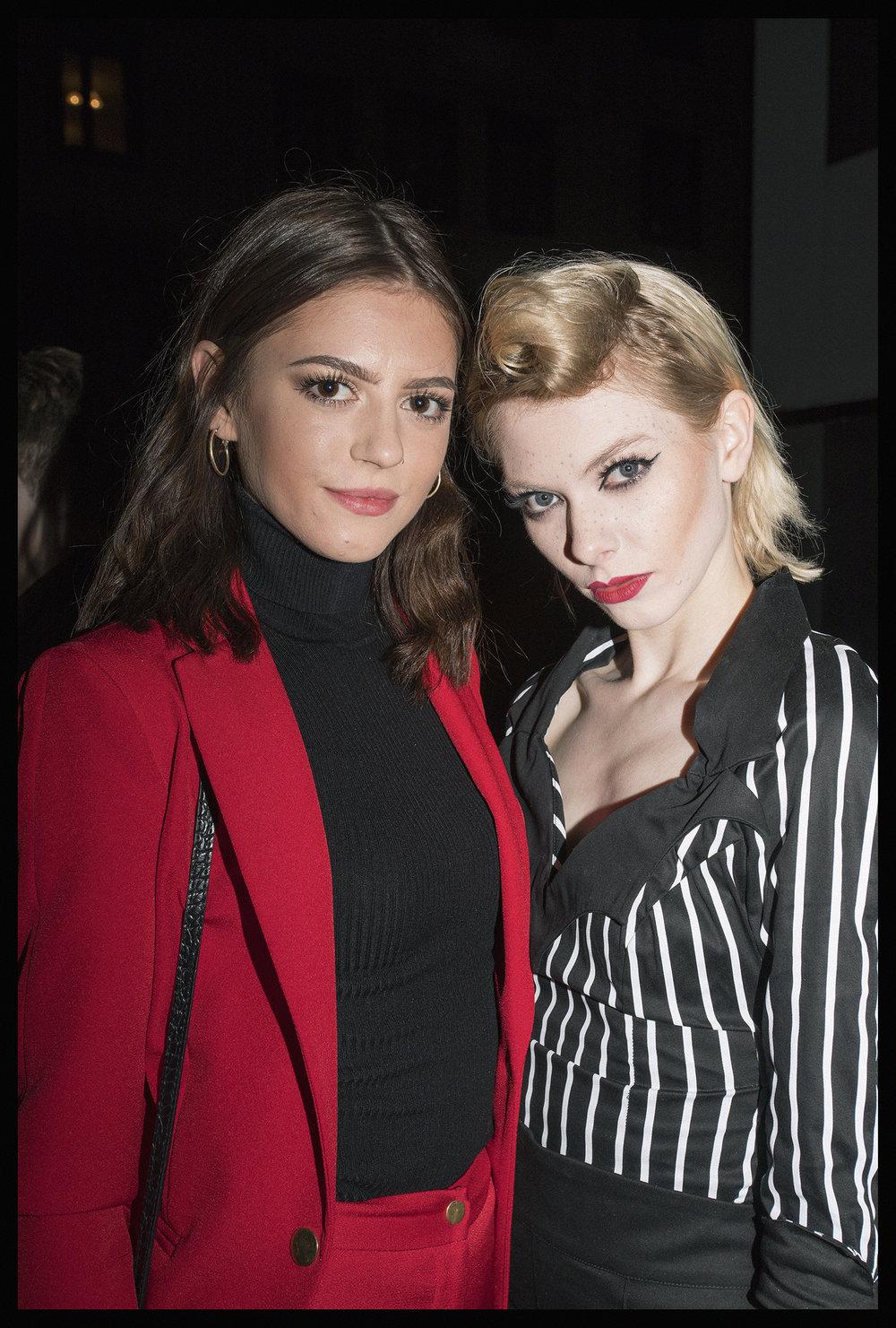 Victoria and Francesca.