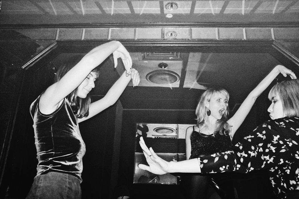 Dancing guests.