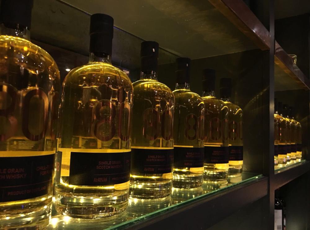 8O8 Whisky.