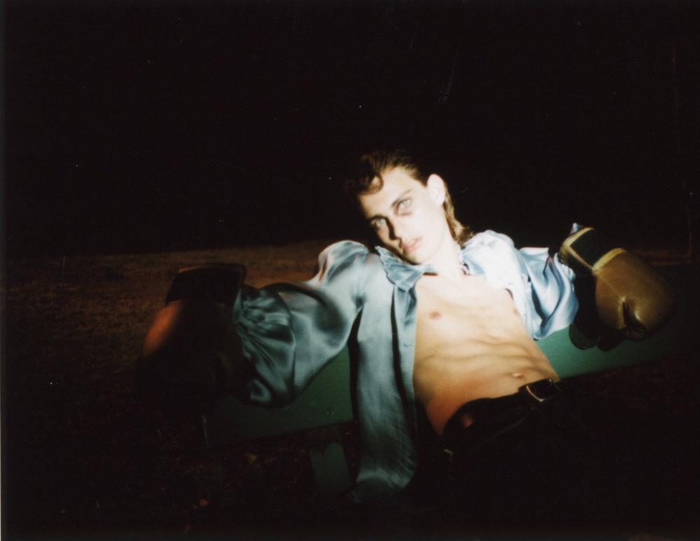 Blue sheer - Ruffian Jeans - Acne