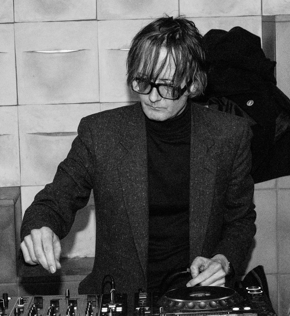 Jarvis Cocker DJs a Desert Daze event on the rooftop of The Ace Hotel in Downtown LA.