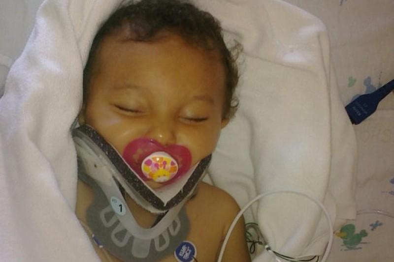 Giada in Hospital After Injury