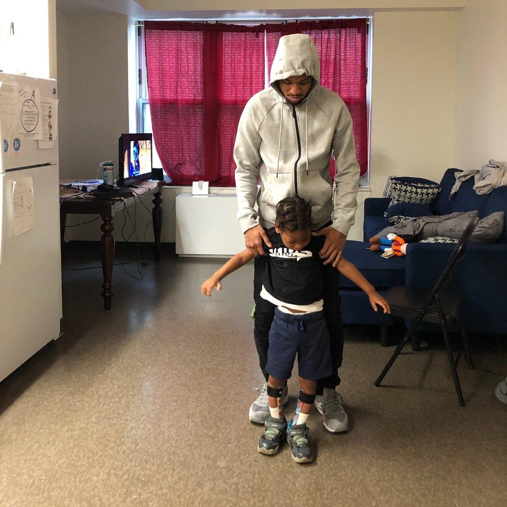 Zahir Learning to Walk