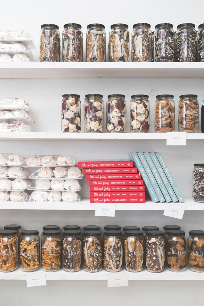 Buy a cookbook or a goodie jar, to bring some of that Little & Friday magic back home. Image via Gratia