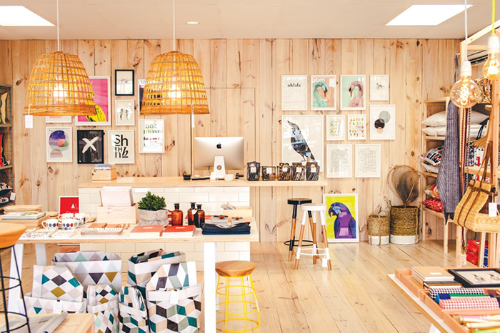 Paper Plane, the contemporary homeware and design store, is one of our favourite shopping destinations in Mount Maunganui.  Image via Homestyle.