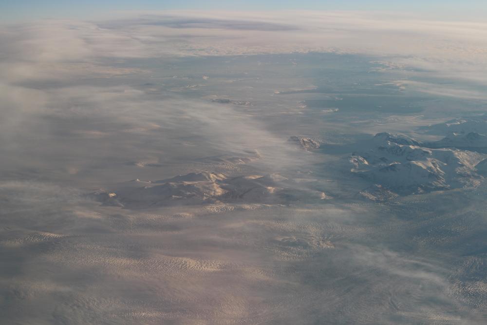 Groenland vu du Ciel… Ambiance presque lunaire non?