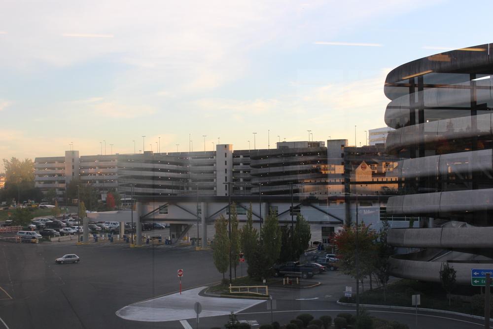 Parking de l'aéroport de Seattle!