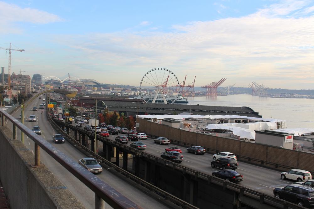 Le règne de l'Automobile! (A Seattle)