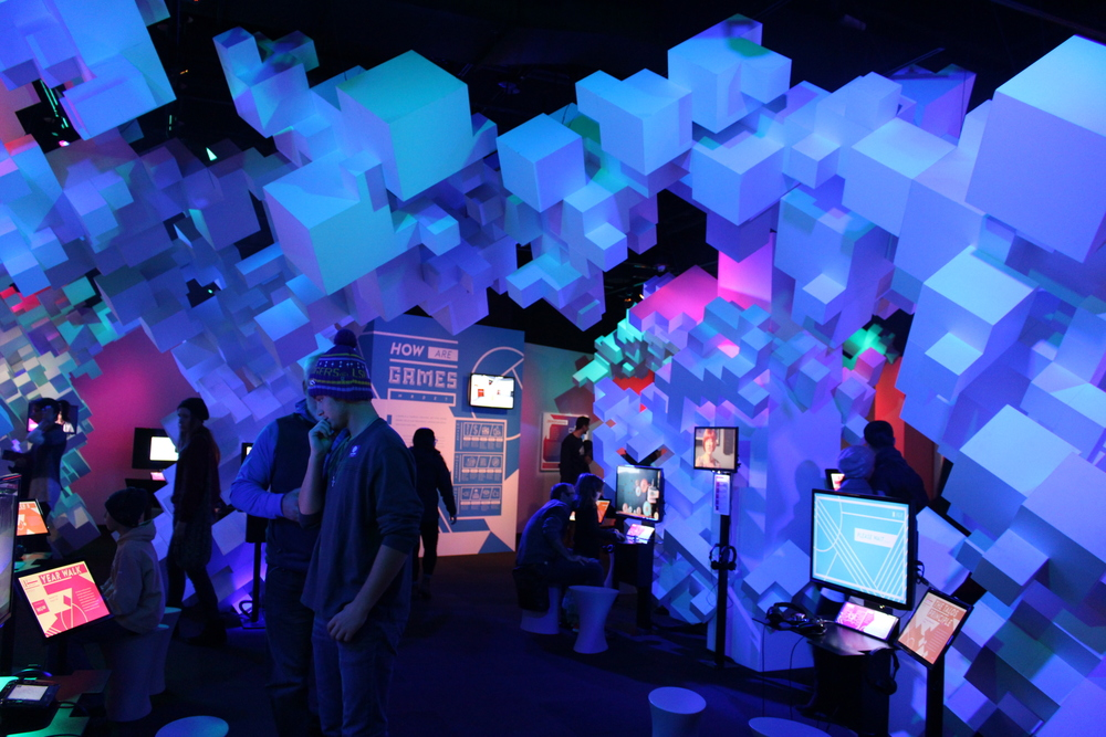 @ Experience Music Project, Indie Game Room, Seattle