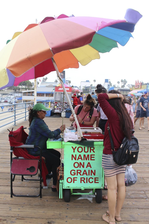 @ Santa Monica Beach, LA